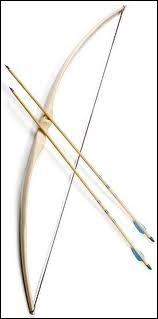 Quel dieu ( ou déesse ) est représenté(e) par l'arc de chasse ?
