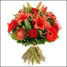 Quel dieu ( ou déesse ) est représenté(e) par les fleurs ?