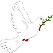 Quel dieu ( ou déesse ) est représenté(e) par la colombe ?