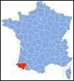 Département de la région Aquitaine, il porte le numéro 64.