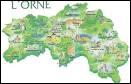 Ce département porte le numéro 61. Il se situe en région Haute-Normandie et a pour préfecture la ville d'Argentan.