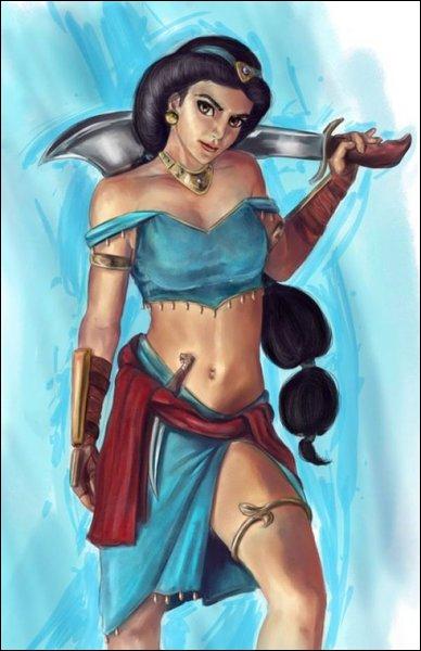 Approche Jafar que je te fasse manger ton perroquet.