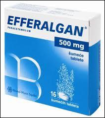 Quelles sont les principales indications de l'Efferalgan ?