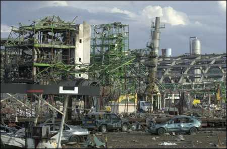 21 septembre 2001, l'explosion de l'usine chimique AZF fait 30 morts. C'était à...