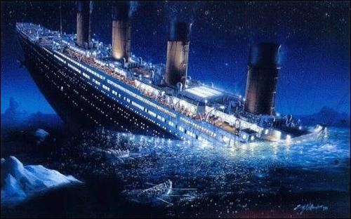 Naufrage du Titanic, 1 513 morts. C'était le...