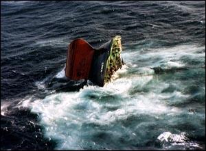 12 décembre 1999, naufrage d'un pétrolier, au large des côtes françaises. 12 000 tonnes de pétrole lourd sont répandues. C'est...