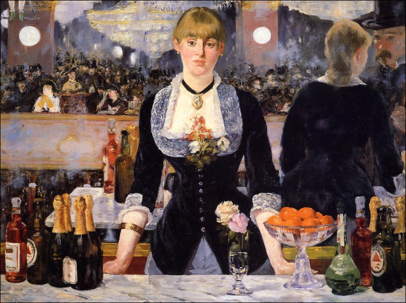 Qui a peint 'Un bar aux Folies-Bergère' ?