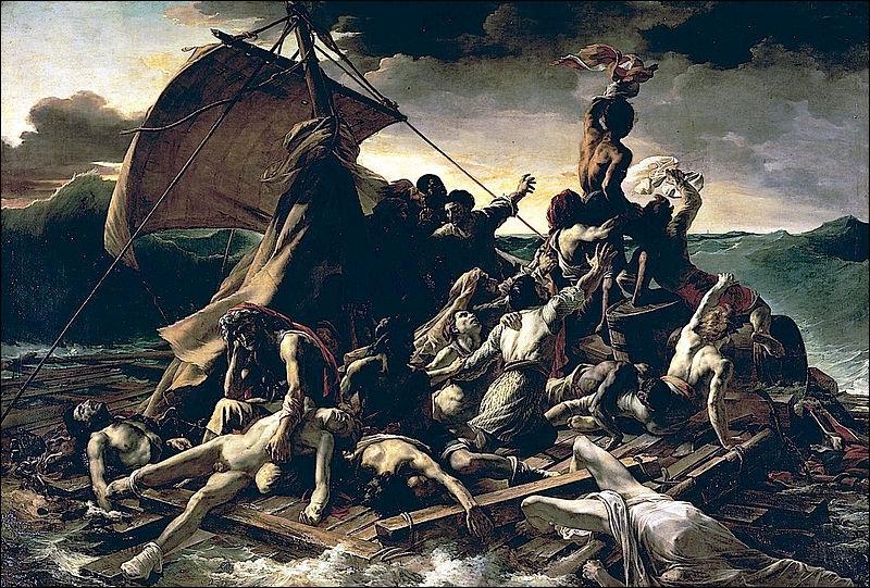 Qui a peint 'Le radeau de la Méduse' ?