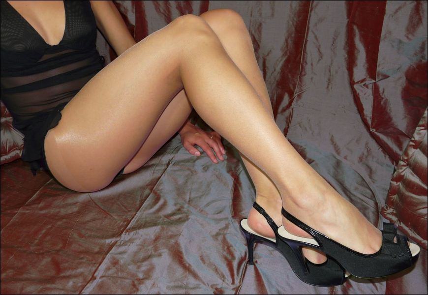 Collant Well : les jambes ont ... .