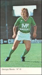Il a été élu en 1973 et 1974 il a été 6 fois champion de France et remporté 4 Coupe de France, c'est ...