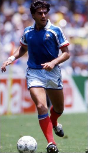 Il a été élu en 1986 et a gagné la Ligue des champions sans avoir joué la finale c'est ...
