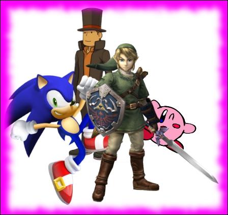 Des personnages, extraits d'une autre série, se sont déjà invités dans un jeu Mario. Ainsi, quel personnage ce dernier n'a-t-il jamais rencontré ?
