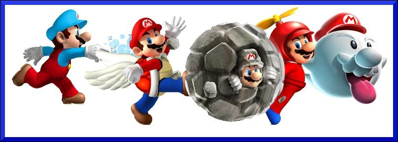 Depuis sa création, Mario a maîtrisé de nombreuses transformations. Laquelle de ces transformations n'existe pas ?