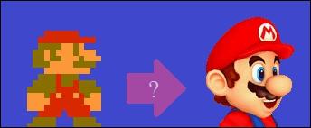 Le premier Mario en 3D est...