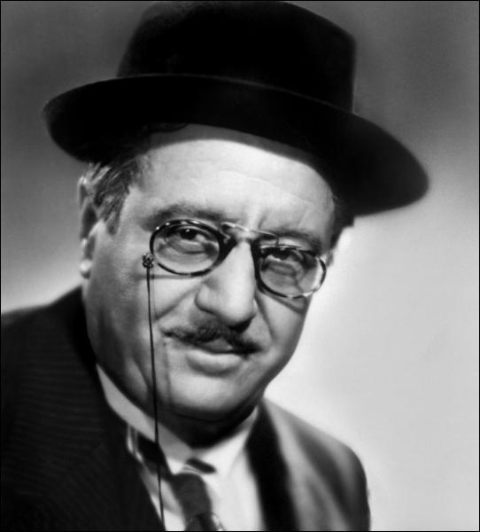 Monstre sacré du cinéma des années 30 et acteur fétiche de Marcel Pagnol