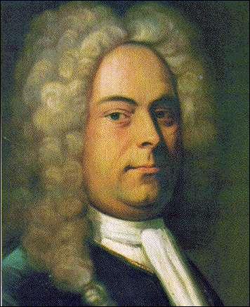Né et formé en Saxe (1685-1759), virtuose hors pair à l'orgue et au clavecin, ses oeuvres les plus célèbres : 'le Messie' et 'Water music' ont préservé sa notoriété au cours du XIXème s