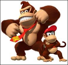 Donkey Kong est un singe, mais comment s'appelle le petit singe ?