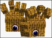 Un nouveau boss, de Super Mario 64, à identifier.