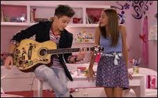 Qui est ce garçon qui a été très attiré par Violetta ?