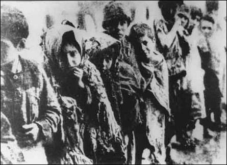 Génocide des Arméniens de la 1ère guerre mondiale