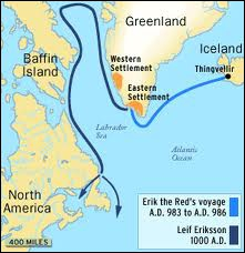 Leiv Eriksson (970-1020), fils d'Erik le Rouge, est sans doute le premier navigateur européen à explorer l'Amérique du Nord. Aujourd'hui, où mettrait-il le pied ?
