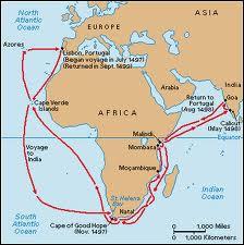 Il a succédé à Bartholomeu Dias en franchissant le Cap de Bonne-Espérance. Qui est le premier européen à rejoindre les Indes par voie maritime ?
