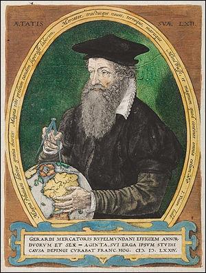 Quel géographe du XVIe siècle propose plusieurs cartes du monde et offre enfin aux navigateurs une réelle description des contours des terres ?