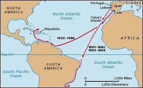 Quel marchand, bijoutier et navigateur fut le premier à émettre l'idée que l'on venait de découvrir un nouveau continent (et non pas les Indes... ) ?