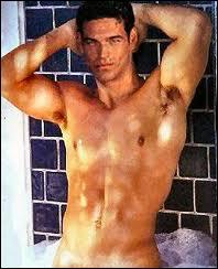 Américain d'origine cubaine, il frise la perfection physique... on peut l'admirer avec ou sans chemise dans la série, excellente d'ailleurs, Invasion...