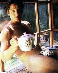 Un agent du FBI qui aime le thé et les théières... Il a subjugué le monde entier en Fox Mulder, c'est...