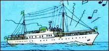 Comment le propriétaire du magnifique yacht  Shéherazade  se fait-il appeler ?