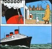 A bord de quel célèbre paquebot de croisière, Tintin a-t-il traversé l'Atlantique pour aller en Amérique ?