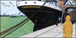 C'est à bord du Karaboudjian que Tintin fera la connaissance du capitaine Haddock. Dans quel album la rencontre des 2 amis s'est-elle déroulée ?