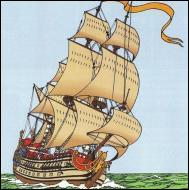 Quel est le nom du navire de chevalier François de Hadoque ?