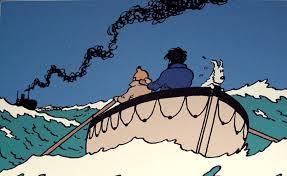 Tintin et ses aventures en mer