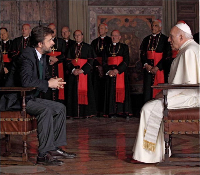 Film de Nani Moretti sorti en France en septembre. Michel Piccoli y incarne un pape malgré lui qui vit dans le regret d'une carrière de comédien avortée. C'est :