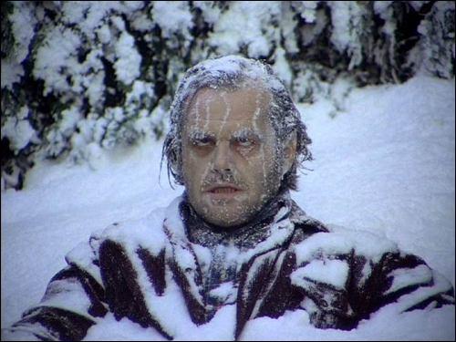 Où meurt gelé Jack Torrance ?