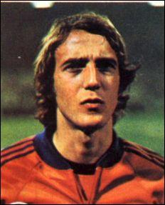 Qui est ce joueur néerlandais ?