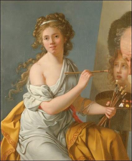 Formée par Élisabeth Vigée-Lebrun, puis par David, féministe et anti-esclavagiste, c'est son 'Portrait d'une négresse' (1800), qui assoit immédiatement sa réputation. De qui est cet autoportrait ?