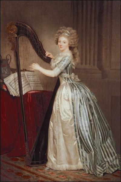 Peintre française (1761-1802) et excellente musicienne, liée avec Méhul, elle a surtout peint la miniature. De qui est cet autoportrait ?