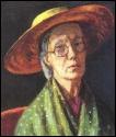 Peintre et architecte d'intérieur britannique (1879-1961), appartenant au Bloomsbury Group, soeur de Virginia Woolf. De qui est cet autoportrait ?