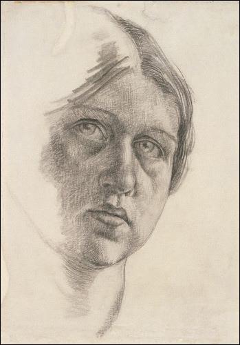 Peintre et artiste décoratrice britannique (1893-1932), proche du Bloomsbury Group, elle peignit des portraits de ses amis et de son mari Lytton Strachey . De qui est cet autoportrait ?