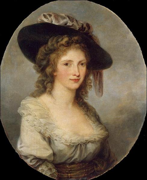 Née en Suisse, c'est l'une des plus fameuses femmes peintres et portraitistes du XVIIIe siècle. De qui est cet autoportrait ? (1784) .