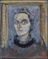 Peintre portugaise (1908-1992), elle s'installe en France en 1928. Considérée comme un des plus importants artistes de l'art abstrait d'après-guerre. De qui est cet autoportrait ?
