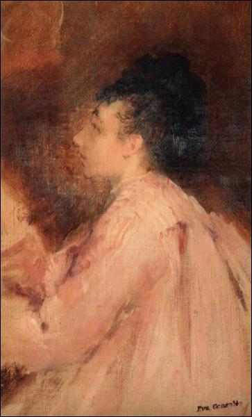 Impressionniste française (1849 -1883), elle servit de modèle pour les membres de l'école impressionniste et peignit esentiellement les membres de son entourage. De qui est cet autoportrait ?
