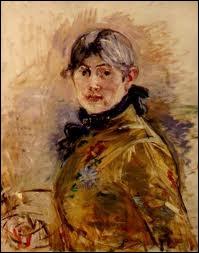Et pour finir, les plus connues d'entre elles. (1841-1895). Elle est française. De qui est cet autoportrait ?