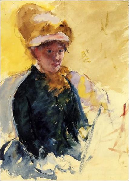 Elle est américaine. (1844-1926). De qui est cet autoportrait ?
