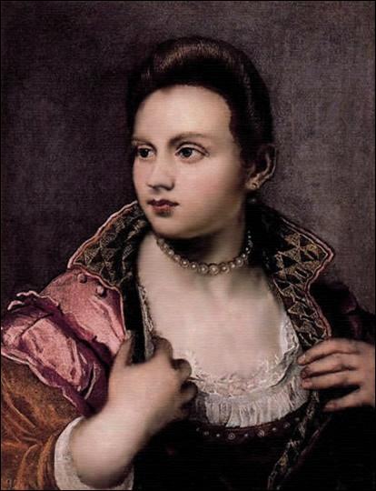 Fille d'un très célèbre peintre italien, elle peignit essentiellement des portraits. (1554-1590)De qui est cet autoportrait ?