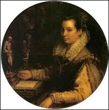 Italienne maniériste de l'école romaine, fille et épouse de peintres (1552-1614), le pape la nomma peintre de la cour pour son talent de portraitiste. De qui est cet autoportrait ?
