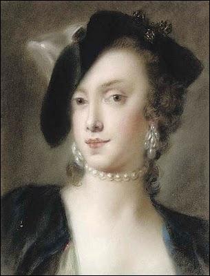 Ne quittons pas ce quizz sans avoir rendu hommage à cette délicate portraitiste vénitienne du XVIIIè siècle avec son pastel de 'Caterina Sagredo Barbarigo'.
